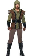 MEDIEVAL ROGUE THIEF ROBIN HOOD ADULT HALLOWEEN COSTUME MEN'S SIZE XLARGE