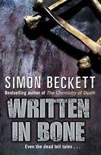 Written In Bone,Simon Beckett