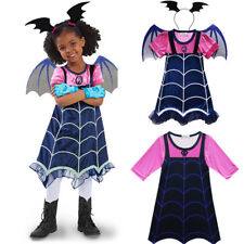 Kids Girl Disney Vampirina Cosplay Costume Fancy Dress Princess Party Halloween