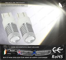 W21/5W CanBus Cree LED White DRL Daytime Running Lights For VW UP! Skoda Citigo