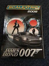 Scalextric 2008 catalogue ,James bond 007  hornby hobbies Excellent