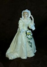 "ROYAL DOULTON Figurine Princess of Wales, ""LADY DIANA"" Bride No Reserve!"
