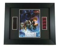 STAR WARS FILM CELLS EMPIRE STRIKES BACK FRAMED Movie Memorabilia STAR WARS GIFT