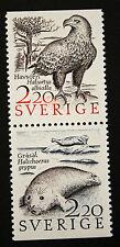 Timbre SUEDE / Stamp SWEDEN Yvert et Tellier n°1455 et 1456 n** (Cyn18)
