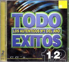 Todo Exitos 1999 - Los Autenticos Nº 1 Del Año CD 1 Y CD 2 - 2 CDs 1999