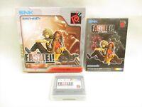 FASELEI ! Neo Geo Pocket Color SNK Neogeo Japan Game np