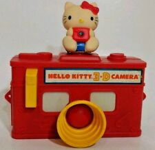 Vintage Hello Kitty Viewmaster 3D Camera Red Toy 1984 Sanrio Rare Collectable