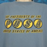 vtg 90s PRESIDENTS OF THE UNITED STATES OF AMERICA CONCERT T-Shirt XL rock tour