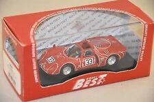 BEST MODEL BES9640 - Alfa Romeo 33.2 6 heures Watkins Glen #33 - 1968  1/43