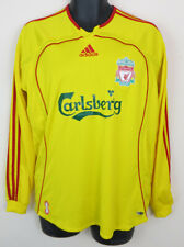 Adidas Liverpool Football Shirt 2006-07 Away Jersey Long Sleeve Trikot Medium