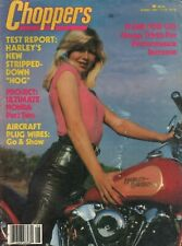 1981 August Choppers - Vintage Motorcycle Magazine