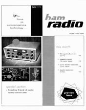Ham Radio MAGAZINE 269 ISSUES in PDF format on DVD 1968-1990
