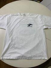 New listing Vintage 90s Brooks Shoes Running Staff T-shirt Sacramento American River Xl Usa