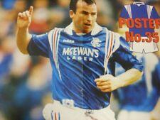"""1996/1997 Rangers: Rangers News Official Poster No.35 - Alan McLaren, 16""""x 11"""" ("""