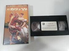 EL REY Y YO VHS TAPE COLECCIONISTA YUL BRINER DEBORAH KERR THE KING AND I