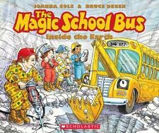 The Magic School Bus: Inside the Earth by Joanna Cole . CD AUDIOBOOK. ONLY.