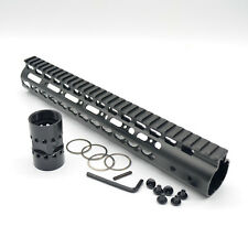 12 Inch Rifle Length Keymod Free Float Quad Rail Handguard Fits 223 5.56
