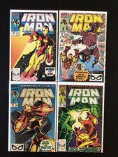4 Issue Lot - Iron Man 256, 257, 258, 259 Avengers