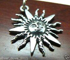 Rare James Avery Sunshine Charm or Pendant Sterling Silver RETIRED