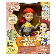 """13"""" Disney Pixar Toy Story Jessie the Yodeling Cowgirl Doll (SPEAKS PORTUGUESE)"""
