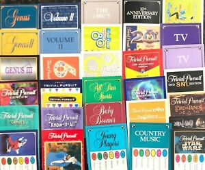 Trivial Pursuit Cards Pick 100 Card Decks As Low As 1.80 Each w HUGE Selection