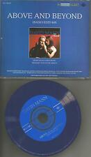 DAVID MANN Above and Beyond w/ RARE RADIO EDIT PROMO Radio CD Single 2002 USA