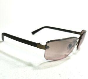 Guess Sunglasses GU252 Denim BRN-62F Brown Rimless w/ Red Gradient Lenses 130