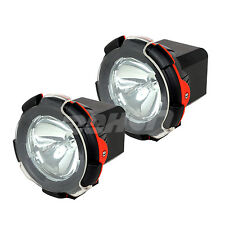 2pcs Xenon HID Work Light 100w 12v 9inch spot flood Offroad Truck ATV SUV BOAT