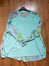A POSTCARD FROM BRIGHTON - BNNW Aqua Fallon Top (RRP £48) SIZE 2 (14-18)