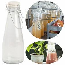 10er Set Einmachglas Quattro Stagioni 0,2L Flasche incl Rezeptheft Milchflasche
