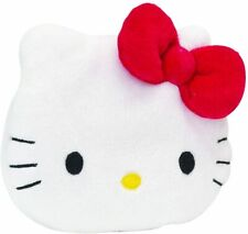 Hello Kitty Plush Purse with Zip, Red Bow Motif
