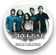 FLYLEAF ROCK GUITAR TABS TABLATURE SONG BOOK SOFTWARE CD