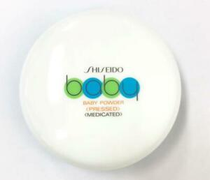 Shiseido Medicated Body Baby Powder (Pressed) With Soft Puff Skincare From JP