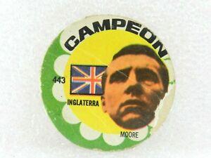 Bobby Moore ORIGINAL FOOTBALL SOCCER 1966 CARD N° 443