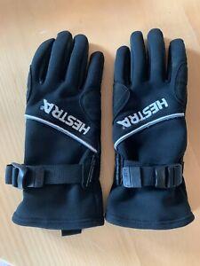 Hestra Damenfingerhandschuhe für Outdooraktiviäten in Farbe schwarz, Größe 7