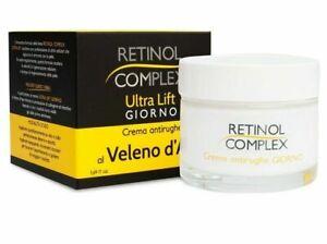Crema Viso Antirughe Ultra Retinol Complex Veleno D'Ape ML 50