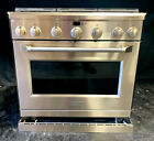 Monogram ZDP366NPSS 36 Inch Pro-Style Dual-Fuel Range with 6 Sealed Dual Flame  photo