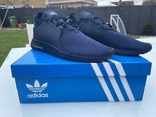 Adidas Para Hombre X _ PLR Zapatillas Azul Marino Talla Reino Unido 12 Totalmente Nuevo En Caja