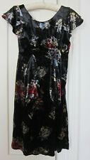Kate Moss TopShop velvet dress
