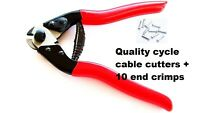 RDK Steel Wire Bike Brake gear Cables Cutters Cutting Plier with 10 End Ferrules