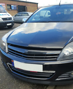 Badgeless debadged car grill compatible with 5 door Vauxhall Opel Astra H mk5
