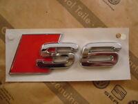 AUDI S6 S-Line Emblem Schriftzug Heckklappe Logo 4B0853735 2ZZ NEU ORIGINAL