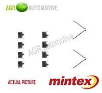 MINTEX REAR BRAKE PADS ACCESORY KIT SHIMS GENUINE OE QUALITY - MBA1166