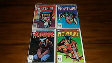 Wolverine Limited Series Complete Set #1 Thru #4 - Higher Grade Set!