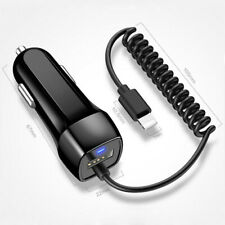2A Rapid Travel Car Charger Adapter for iphone 11 Pro 5s 6s 7 plus XS Max ipad