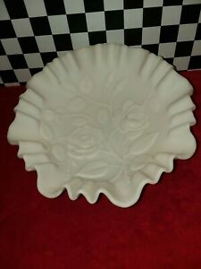 White Indoor Planter Housewarming Gift Vintage Milkglass Rose Bowl Imperial Glass USA Mother/'s Day Gift Collectible Vintage Glass