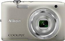 Nikon Coolpix S2800 20.1 MP Point & Shoot Digital Camera (Silver)