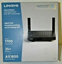 Linksys Max-Stream Mesh AX1800 Wifi 6 Router MR7320