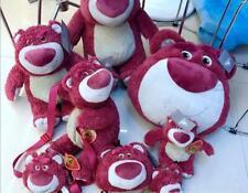 New Disney Lovely Strawberry Bear Lotso Soft Plush Toys Bag Backpack Pillow