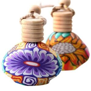 Classic Glass Bottles With Wooden Cover Lovely Colorful Design Gifts Accessories